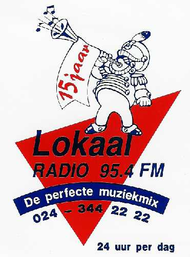 Lokaal Sticker